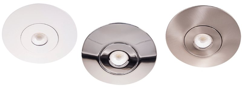 Qr Converter plates white chrome brushed nickel