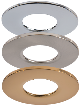 Qr Detachable Rims Chrome Satin Nickel Brass