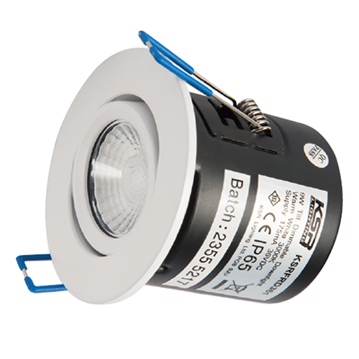 Qr10 10W Dimmable LED Adjustable Downlight