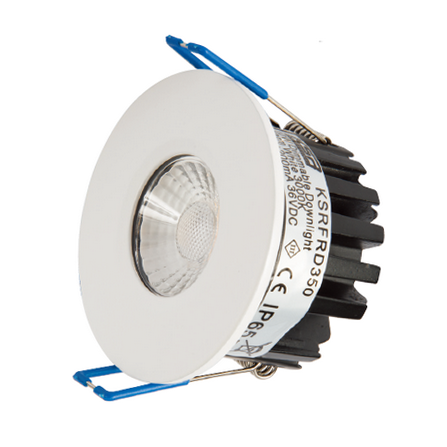 Qr10 9W Fire Rated LED Downlight