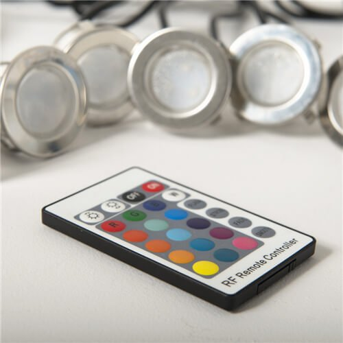 Cabello 10 Pack RGB LED Decking Light Kit