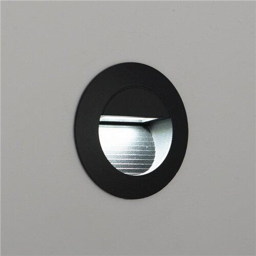 Carpio 1.4W IP44 Mini LED Recessed Wall Light