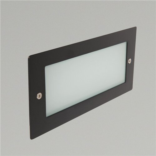 Madrid IP44 6W Rectangle LED Recessed Wall Light
