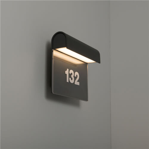 Mataro 8.5W LED Wall Light with Numbers