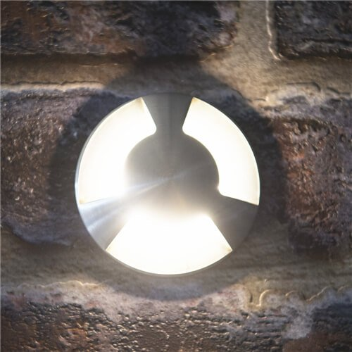 Villas IP67 3W Three Way Mini LED Recessed Light